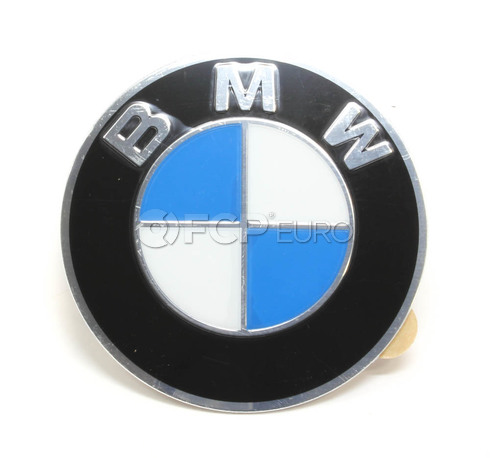 BMW Wheel Center Cap Emblem (64.5mm) - Genuine BMW 36136767550