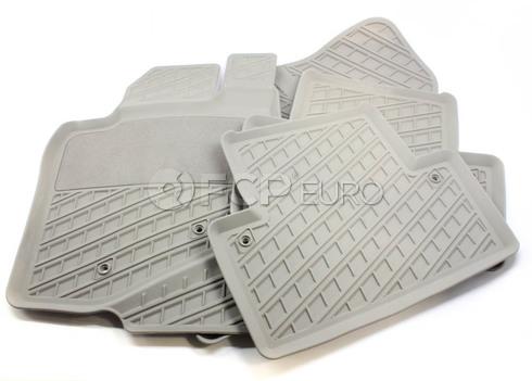 Volvo Rubber Floor Mat Set Oak (V70 XC70) - Genuine Volvo 39891790