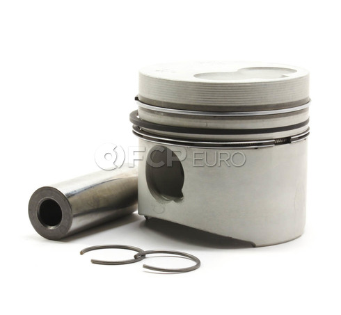 Audi VW Piston with Rings (4000 5000 Golf Jetta) - Kolbenschmidt 068107065E