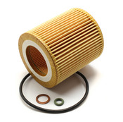 BMW Engine Oil Filter Kit - Mann 11427953129
