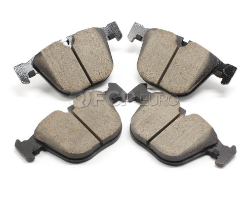 BMW Brake Pad Set - Akebono EUR919