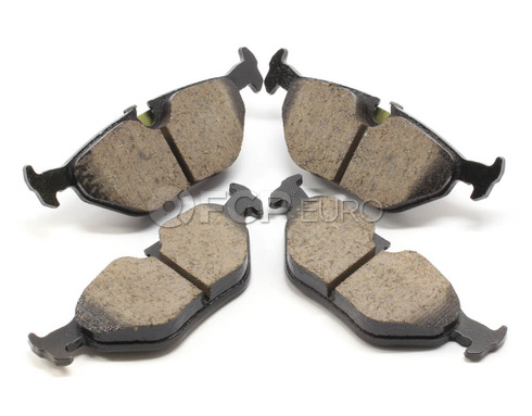 BMW Brake Pad Set - Akebono EUR763