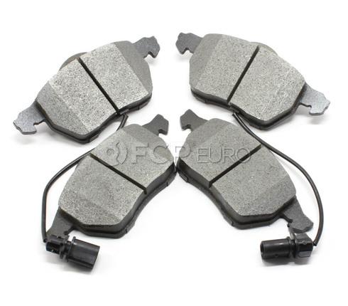 Audi VW Brake Pad Set Front (A4 A6 Passat) - Meyle Semi Metallic 4B0698151AF