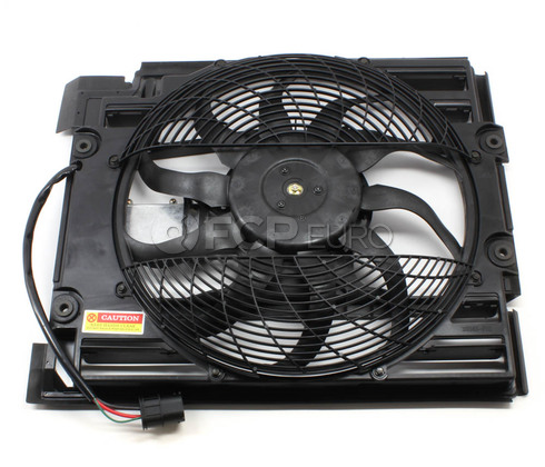 BMW Auxiliary Fan Assembly - TYC 64546921395