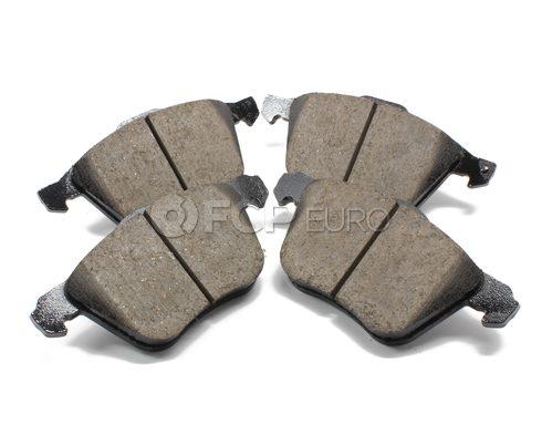 """Volvo Brake Pad Set 12.44"""" (S60 V70 XC90) - Akebono 30793265"""