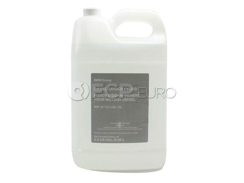 BMW Diesel Emissions Fluid (2.5 Gallons AdBlue) - Genuine BMW 83190440158