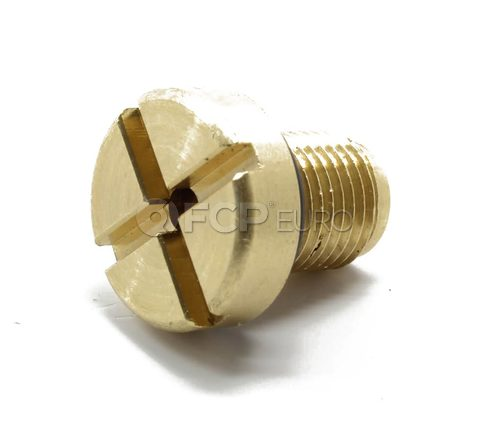 BMW Brass Coolant Bleeder Screw - Economy 17111712788