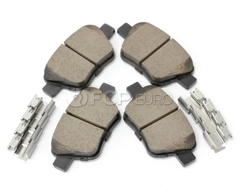 Audi VW Brake Pad Set - Akebono EUR1456