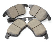 Audi VW Brake Pad Set - Akebono EUR1319