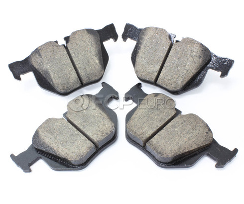 BMW Brake Pad Set (525i 530i 528i) - Akebono EUR1042