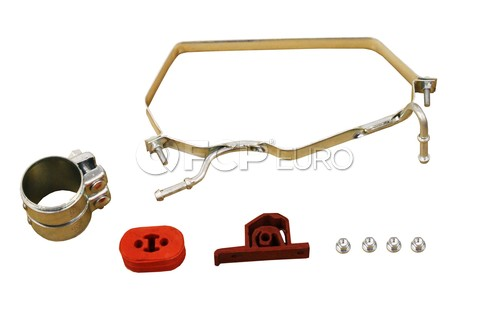 Mini Cooper Exhaust Muffler Clamp Kit Rear Upper (Cooper) - Rein 18207546979