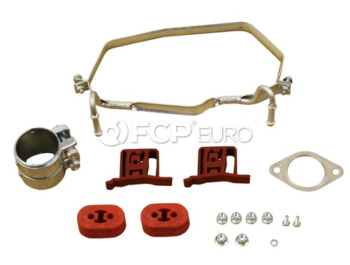 Mini Cooper Exhaust Muffler Clamp Kit Rear Upper (Cooper) - Rein 18201490022