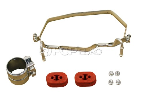 Mini Cooper Exhaust Muffler Clamp Kit Rear Upper (Cooper) - Rein 18201490023