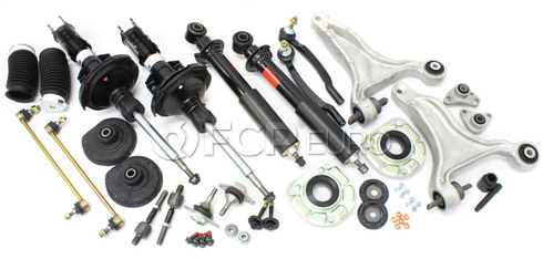 Volvo Suspension Kit Front & Rear (V70XC) - Sachs VFSKF-XCFULLFREarly