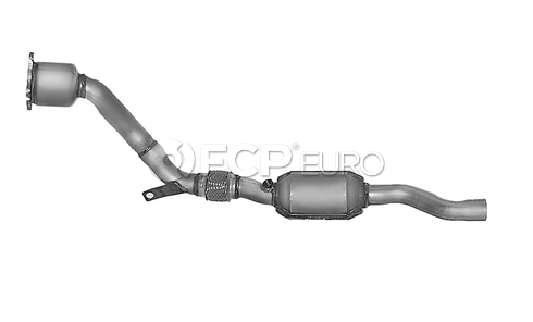 Audi Catalytic Converter (A6 Quattro Allroad Quattro) - DEC AU1301P