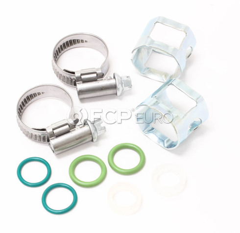 Volvo Transmission Cooling Hose Retainer Kit (850 S70 V70 C70) - 6842411