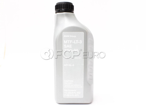 BMW 75W80 MTF-LT-3 Manual Trans Fluid (1 Liter) - Genuine BMW 83222339221