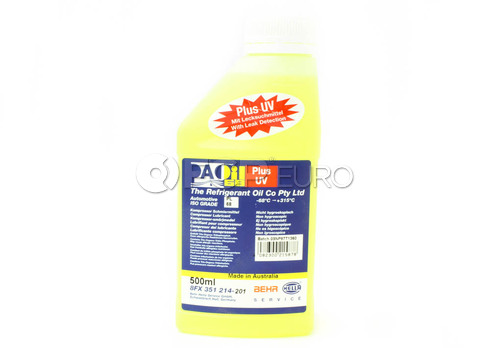 A/C Compressor Oil with UV Dye (PAO 68 AA1 500Ml) - Behr 351214201