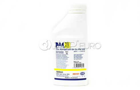 A/C Compressor Oil (PAO 68 AA1 500Ml) - Behr 351214031