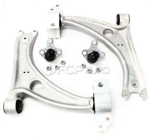 VW Control Arm Kit 4-Piece (Passat CC) - Genuine VW Audi B6PASSATCA4
