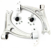 VW Control Arm Kit 4-Piece - Genuine VW Audi B6PASSATCA4