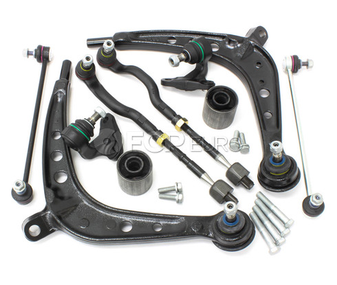 BMW 10-Piece Control Arm Kit (E46 325xi 330xi) - E46XI10PIECECAKIT-L