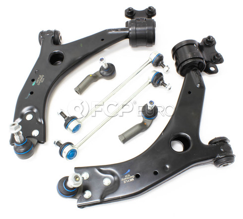 Volvo Control Arm Kit 6-Piece (C30 C70 S40 V50) -Meyle KIT-P1CAKIT2MY2
