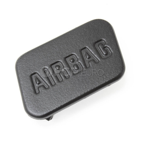 BMW Cover Airbag Right (Black) - Genuine BMW 51418413216