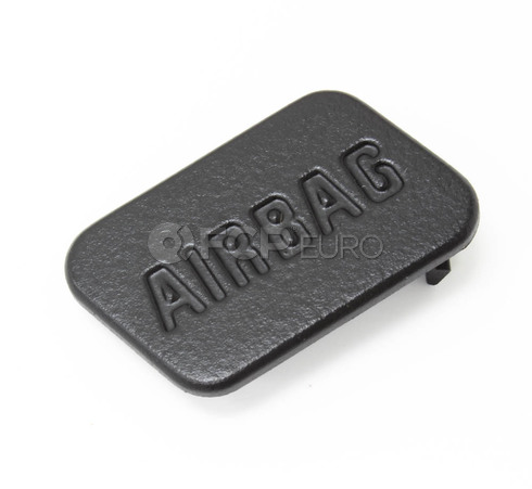 BMW Cover Airbag Left (Black) - Genuine BMW 51418413215