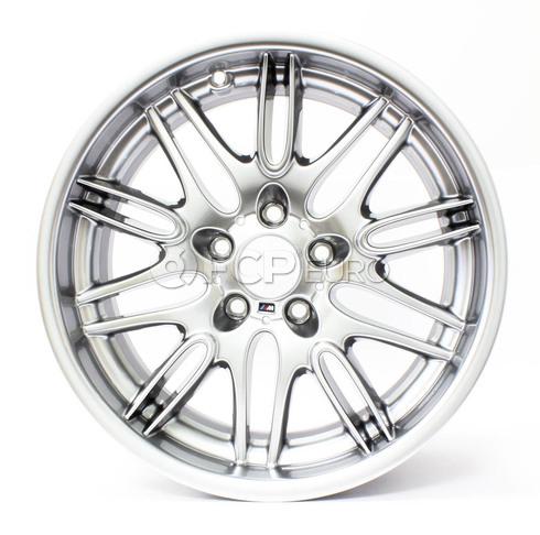 """BMW 18"""" M Double Spoke Style 65 Wheel - Genuine BMW 36112228950"""