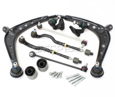 BMW 10-Piece Control Arm Kit (E46 325xi 330xi) - E46XI10PIECECAKIT-OE