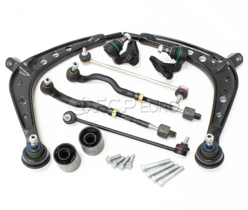 BMW 10-Piece Control Arm Kit (E46 325xi 330xi) - E46XI10PIECECAKIT-OE