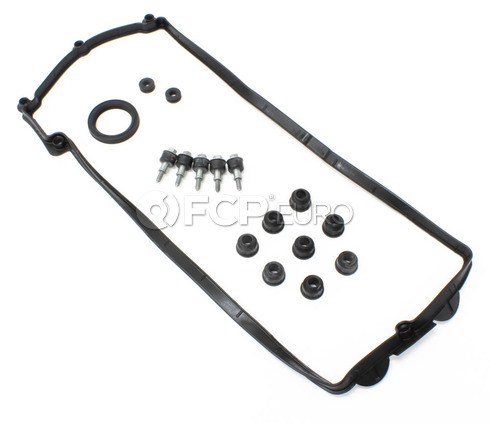 BMW Valve Cover Gasket Set Left - Genuine BMW 11127513195