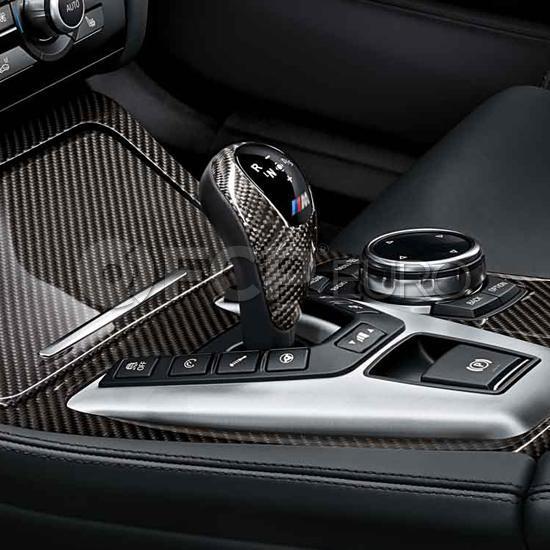 BMW M Performance Carbon Fiber DCT Shift Knob Trim