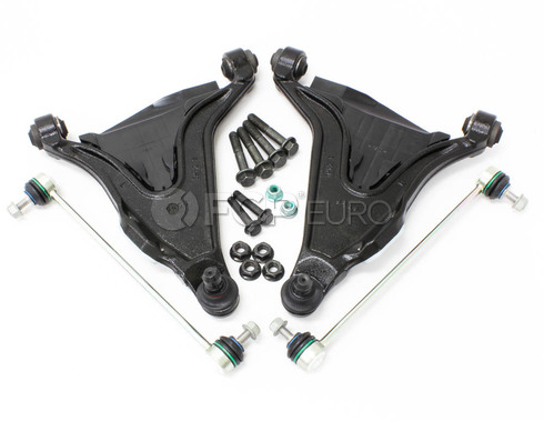 Volvo Control Arm Kit 4 Piece (850 S70 V70) - Lemforder KIT-P80CAKT2P4