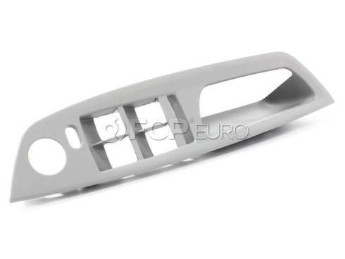 BMW Trim Door Pull Left (Grey) - Genuine BMW 51416975781