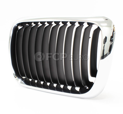 BMW Kidney Grille Left (E36) - Genuine BMW 51138195151