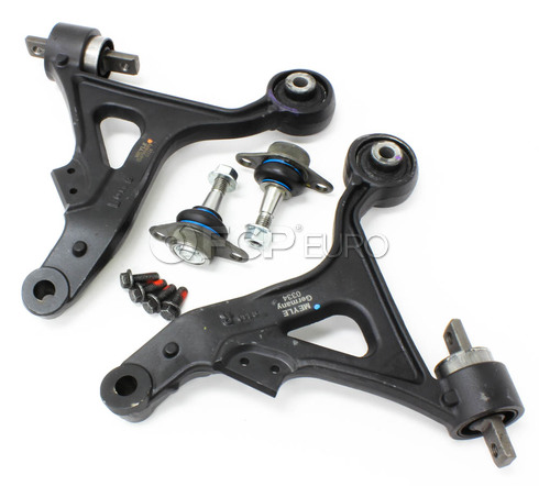 Volvo Control Arm Kit 4 Piece - Meyle KIT-P2S60LT3P4