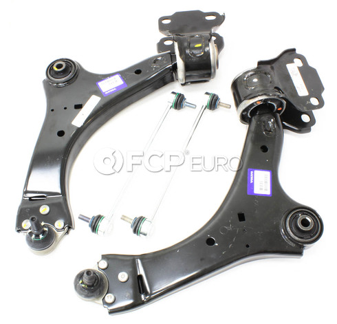 Volvo Control Arm Kit 4 Piece (S60 S80 V70) - Genuine Volvo KIT-P3CAKTP4