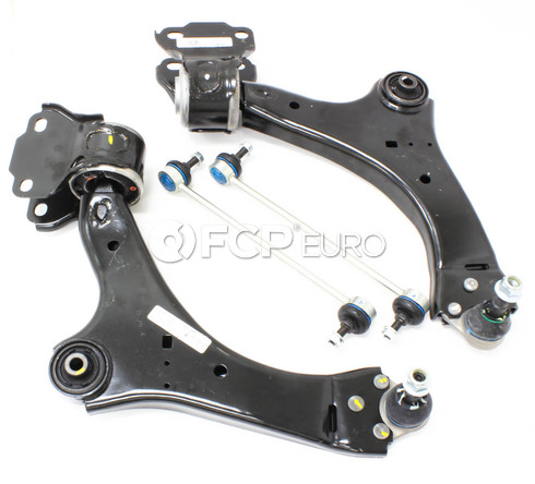 Volvo Control Arm Kit 4 Piece (S60 S80 V70) - Meyle KIT-P3CAKT3P4