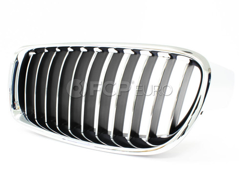 BMW Luxury Line Kidney Grille Left - Genuine BMW 51137263481