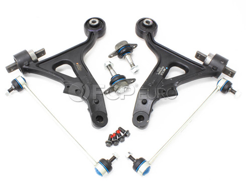Volvo Control Arm Kit 6 Piece (S60 V70) - Meyle KIT-P2S60LT3P6