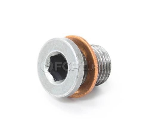 VW Engine Oil Drain Plug (Beetle Golf Jetta) - Genuine VW Audi N91086801