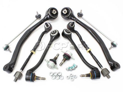 BMW 10-Piece Control Arm Kit (E83 X3) - X3CAKITFULL