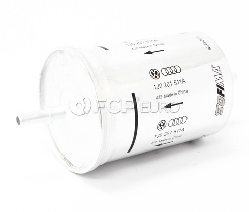 Audi VW Fuel Filter (A4 S4 Golf Jetta) - Genuine VW Audi 1J0201511A