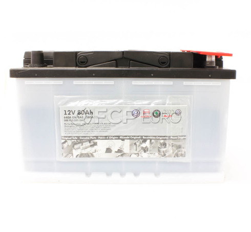 Audi VW Battery - Genuine VW Audi 000915105DH