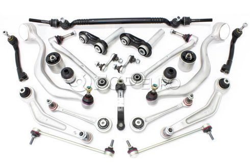 BMW 20-Piece Control Arm Kit - 540E3922PIECE