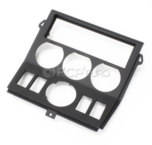 BMW Switch Cover (Black) - Genuine BMW 51168411648