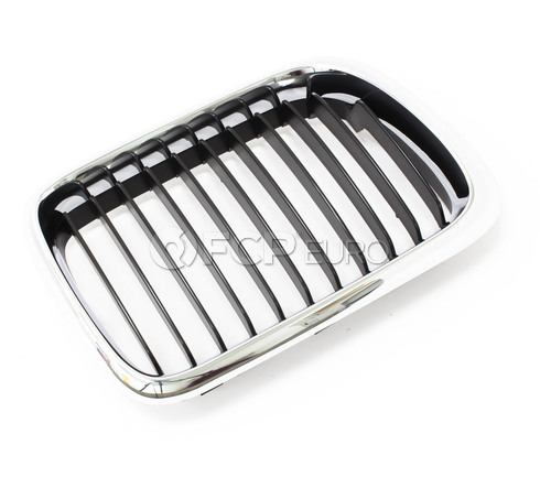 BMW Kidney Grille Right (E36) - Genuine BMW 51138195152