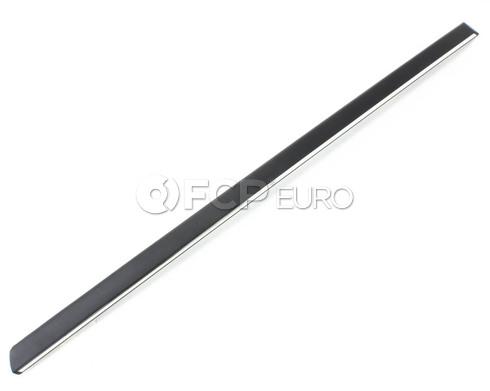 BMW Moulding Door Rear Left (Chrom) (740iL 750iL) - Genuine BMW 51138125827